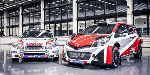 Toyota Yaris Wrc To Compete For 2017 World Rally Championship