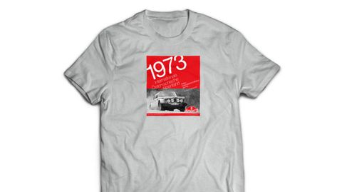 Heritage Racing 1973 Alpine Rally T Shirt