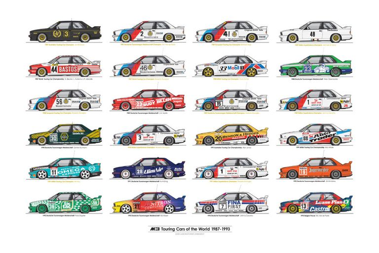 Car Race Poster Design