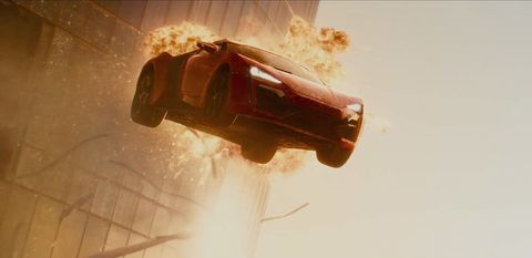 Furious 7 - Lykan Hypersport