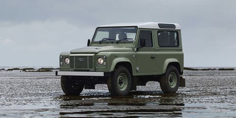 The Land Rover Defender final editions are spectacular