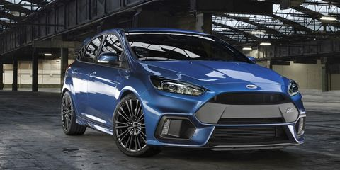Ford Focus Awd >> 2016 Ford Focus Rs Awd More Than 315 Hp Coming To The U S