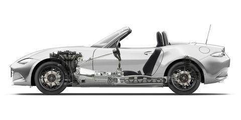 mazda mx 5 2014 engine