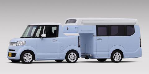 Honda N-TRUCK and N-CAMPER