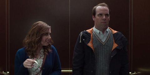 Vanessa Bayer 50 Shades Elevator Scene