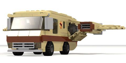 LEGO Ideas - Spaceballs Eagle 5 Concept