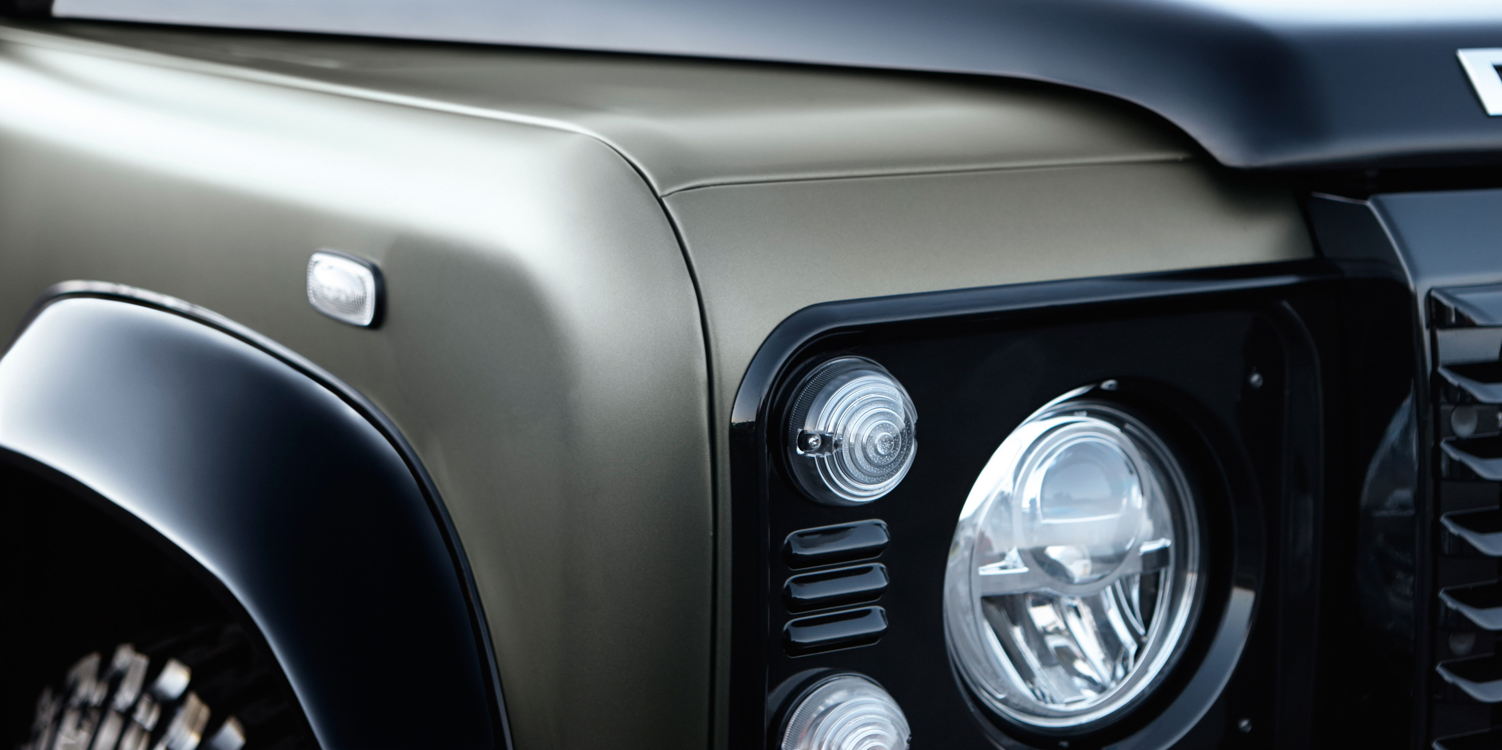 Land Rovers Best Defender May Be One Of Its Last Rover Lights