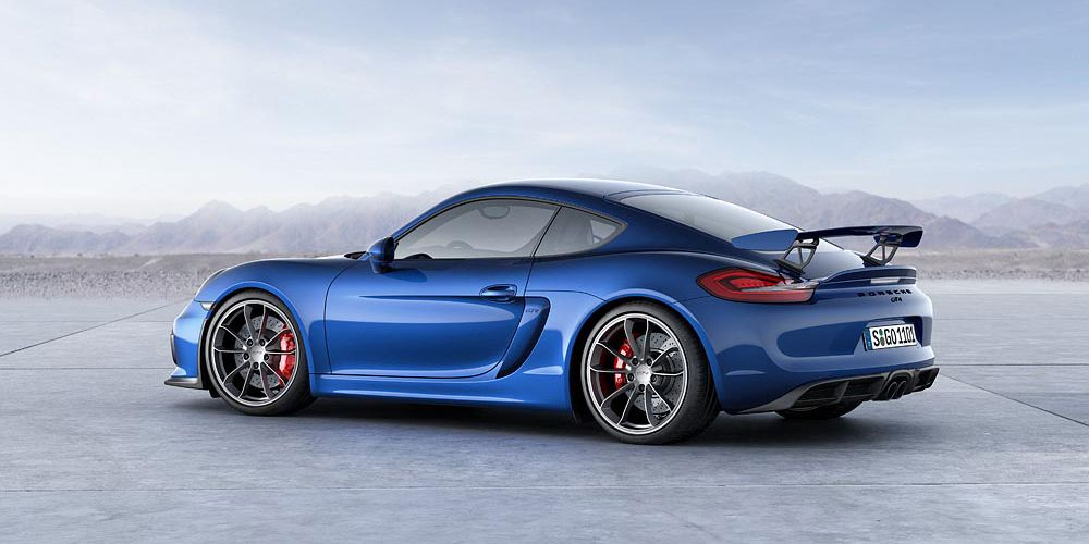 The Next Porsche Cayman Gt4 Could Get A Huge 4 0 Liter Flat Six