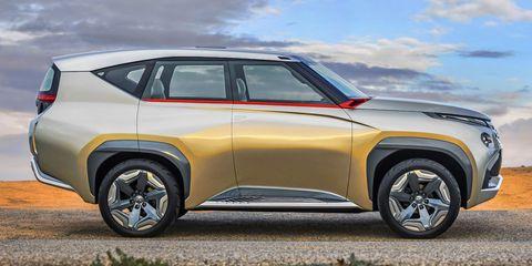 Mitsubishi GC-PHEV Montero Concept