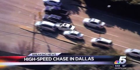 Road ragers take down suspect in high speed cop chase