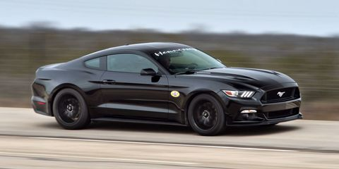 Watch Hennessey's 717-hp Mustang hit 195 mph