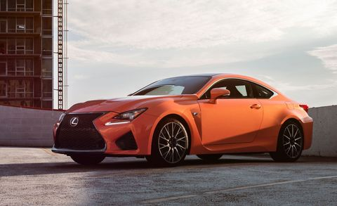 The Lexus RC F Is the Perfect Japanese Pony Car