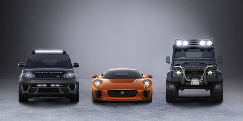 The enemy cars of SPECTRE