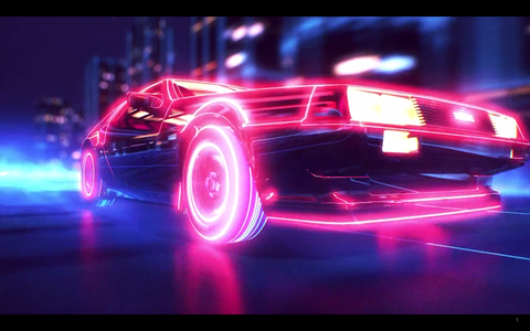 This Video Is Like A Cyberpunk Delorean Movie Trailer