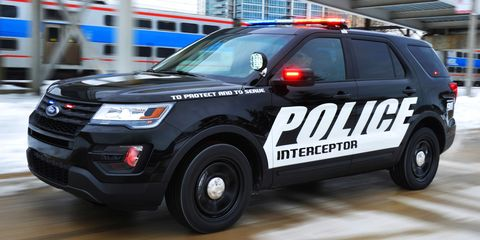 The 2016 Ford Police Interceptor Utility Is Here