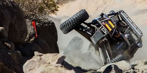 King of the Hammers is gnarly