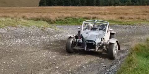 The Ariel Nomad on gravel looks like the most fun ever