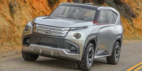 Mitsubishi GC-PHEV concept