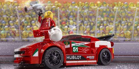 Lego Ferrari 458 GT