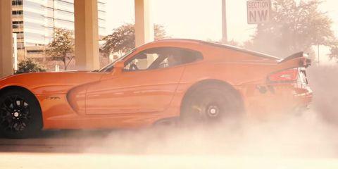 Dodge Viper TA + Twin Turbos = 1,042 hp