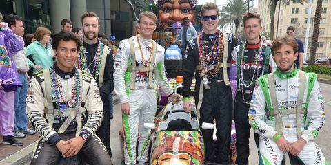 IndyCar at Mardi Gras