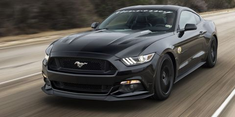 This is what a 195-mph Ford Mustang looks like