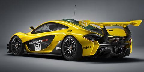 The McLaren P1 GTR is ready to take gentlemen racing