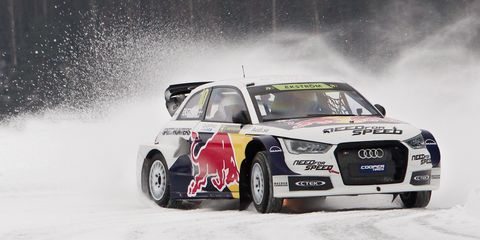 Mattias Ekstrom driving tips