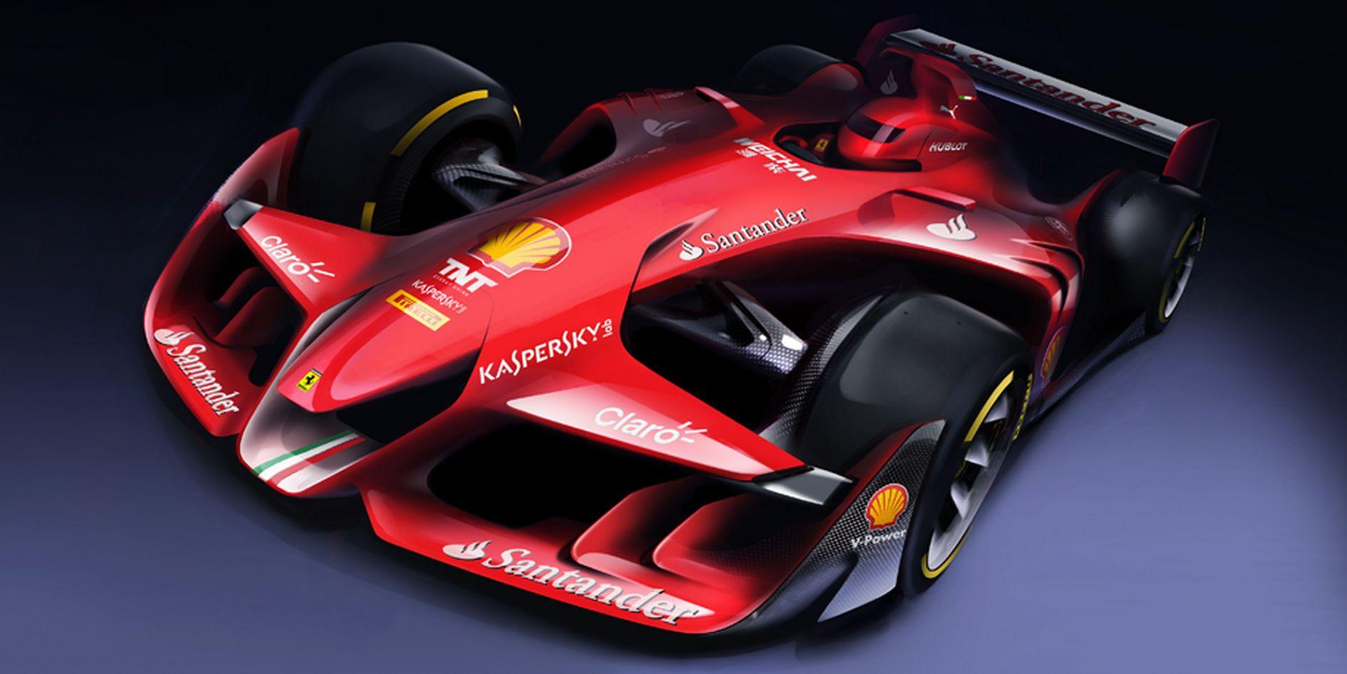 Here S Ferrari S Concept For A More Beautiful F1 Car