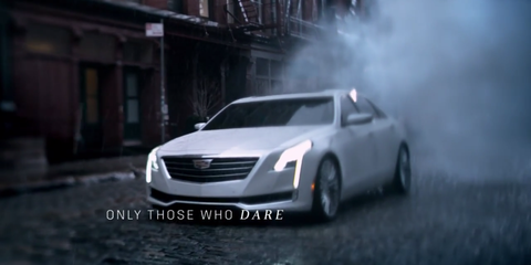 Cadillac Ct6 Revealed In Oscars Tv Commercial