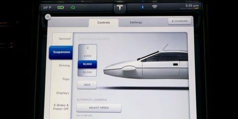 Tesla Model S contains fantastic James Bond easter egg