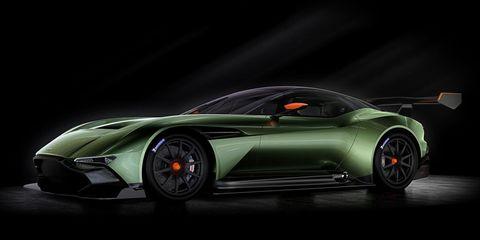 Aston Martin Vulcan: An exquisite 800-hp track special