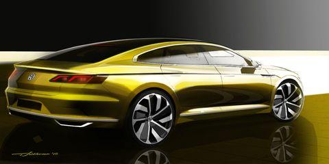 VW concept sketches hint at next Passat CC