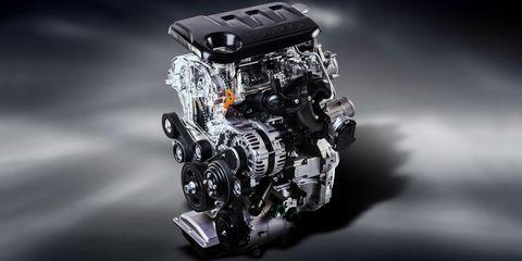 Kia Kappa 3-cylinder Engine