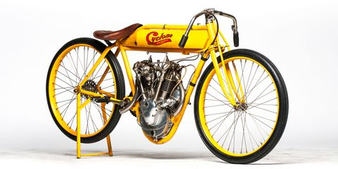 Steve McQueen's Cyclone board track racing motorcycle