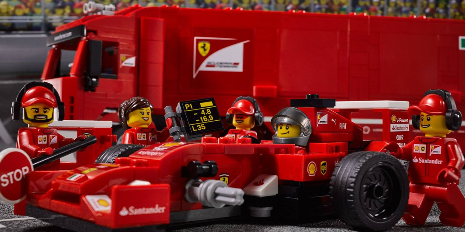 Watch A Time Lapse Build Of The New Lego Ferrari F1 Kit