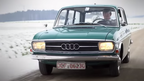 There are around 10 of these Audi wagons left on Earth
