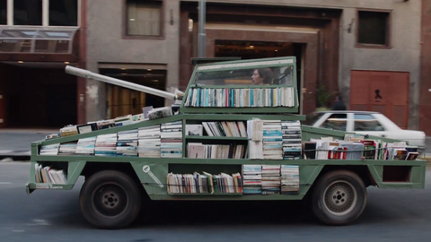 """Artist turns Ford into """"Weapon of Mass Instruction"""""""