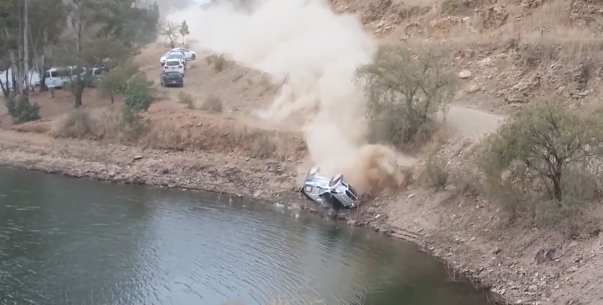 M-Sport Fiesta WRC sinks after crazy Rally Mexico crash [UPDATED]