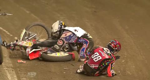 Greg Hankock Speedway crash