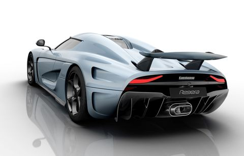 The Koenigsegg Regera has 1500 hp and no gearbox