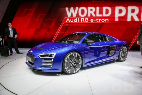 The All-Electric Audi R8 E-Tron Is Already Dead
