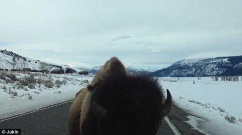 Winter, Mountainous landforms, Road, Freezing, Mountain range, Slope, Glacial landform, Snow, Highland, Ice,