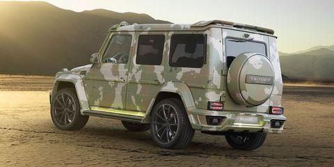 Mansory G63 Sahara Edition