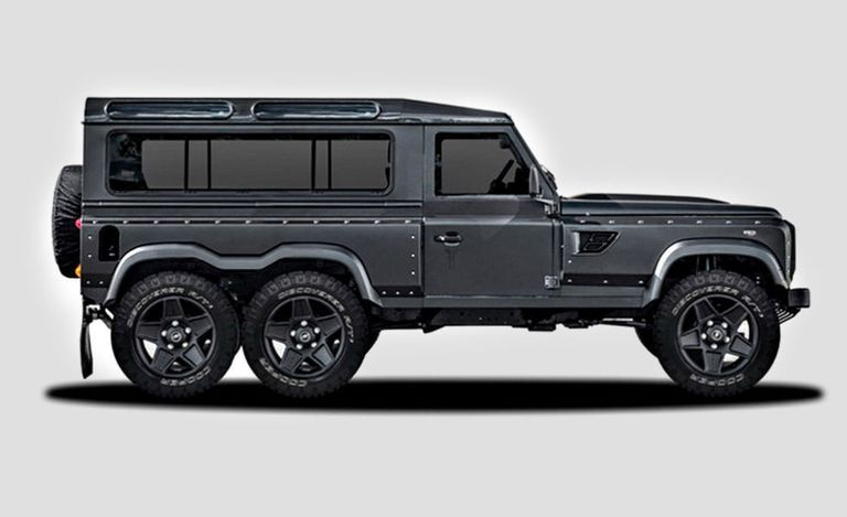 Who knew you needed a 6x6 Land Rover Defender?