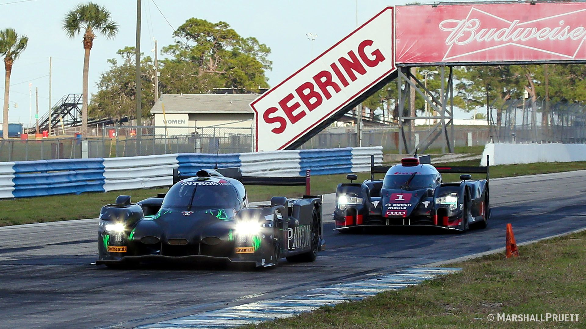 Testing at Sebring International Racing on March 4 with the new Audi R18, Nissan GT-R LM NISMo, and Tequila Patron ESM HPD ARX-04b ahead of the 2015 World Endurance Championship.
