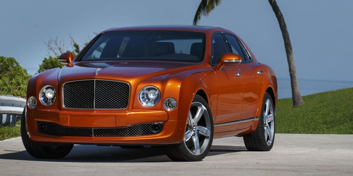 The 2015 Bentley Mulsanne Speed has all the torque