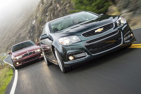 The Comparison: 2003 BMW M5 vs  2015 Chevrolet SS