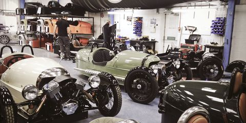 Side Glances: Fenced in at the Morgan Factory