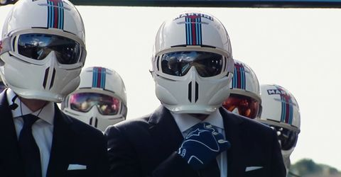 Williams F1 Hackett Promo